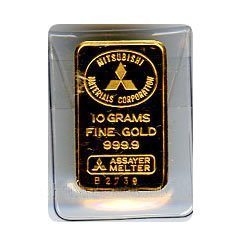 Random Manufacturer 10 Gram Gold Bar