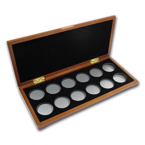 Lunar Series I (1oz Silver) 12 coin Wood Presentation B