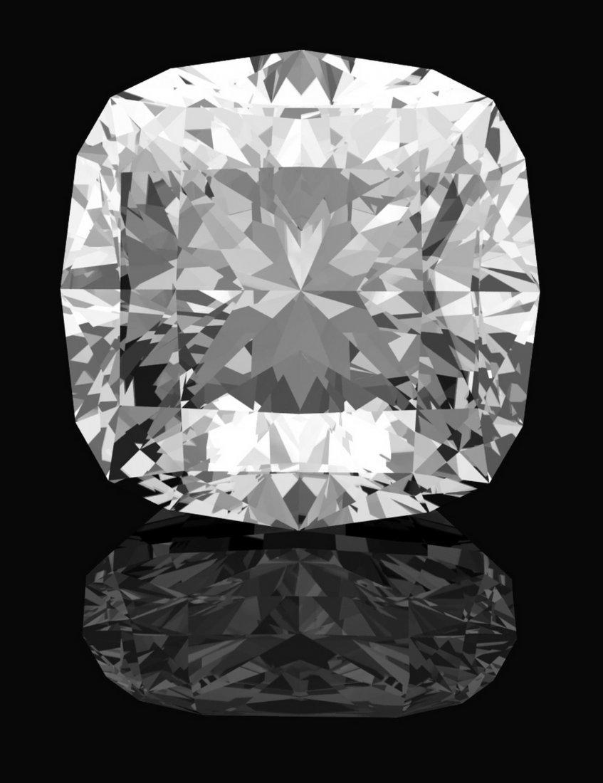 Cushion 0.8 Carat Brilliant Diamond D VS1