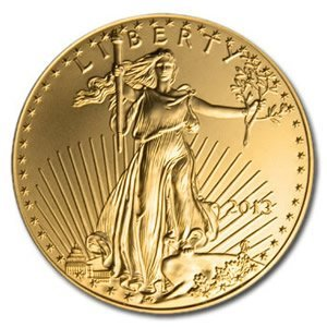 US American Gold Eagle Uncirculated 1 oz 2013