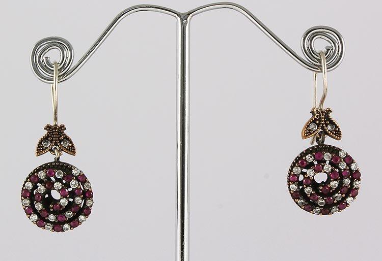Natural Stone Antique Design Dangle Earring