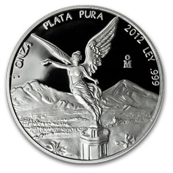 2012 1 oz Silver Mexican Libertad Proof - In Capsule