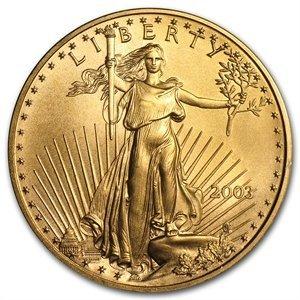 2003 1 oz Gold American Eagle - Brilliant Uncirculated