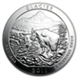 2011 5 oz Silver ATB - Glacier National Park, MT