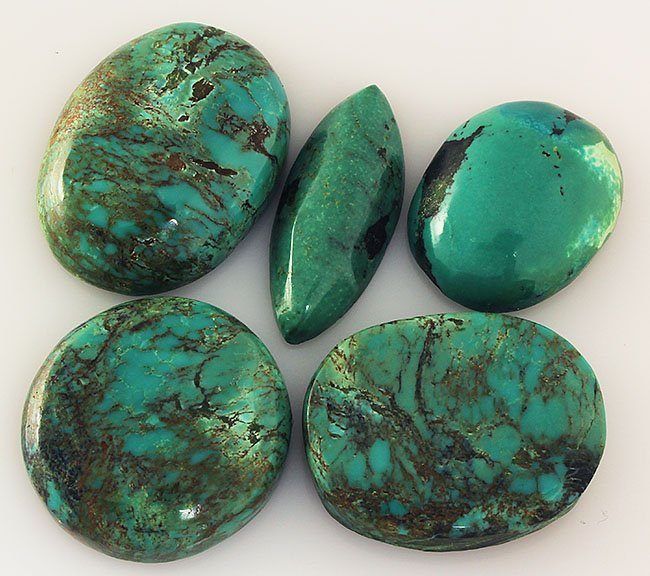 Natural Turquoise 192.49ctw Loose Small Gemstone Lot of