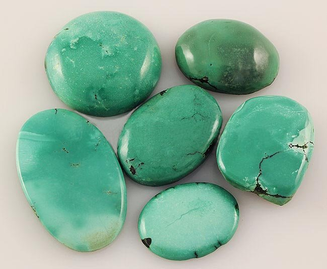 Natural Turquoise 170.00ctw Loose Small Gemstone Lot of