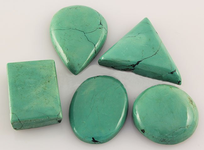 Natural Turquoise 133.24ctw Loose Small Gemstone Lot of