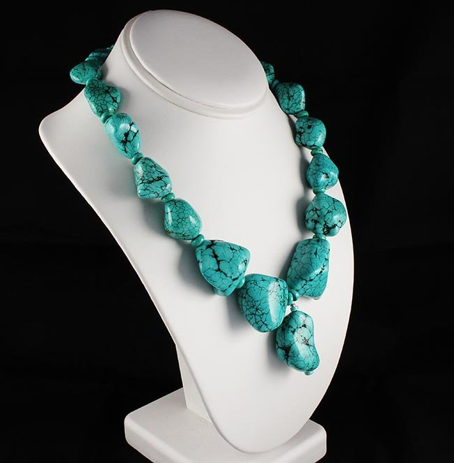 Big Bold Statement Turquoise Necklace