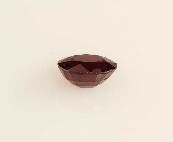 Loose Gemstone Faceted Ruby Corrundum