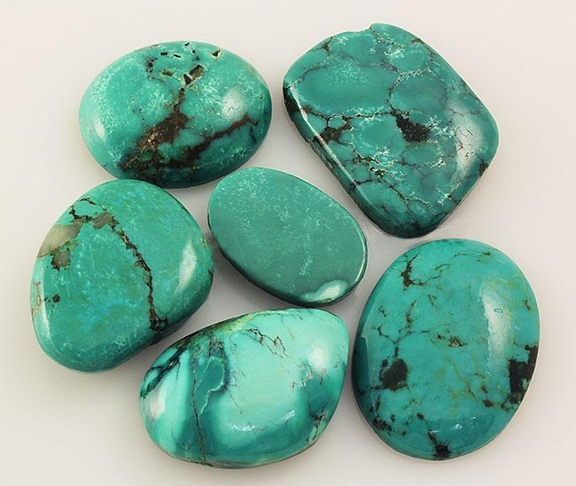 Natural Turquoise 160.22ctw Loose Small Gemstone Lot of
