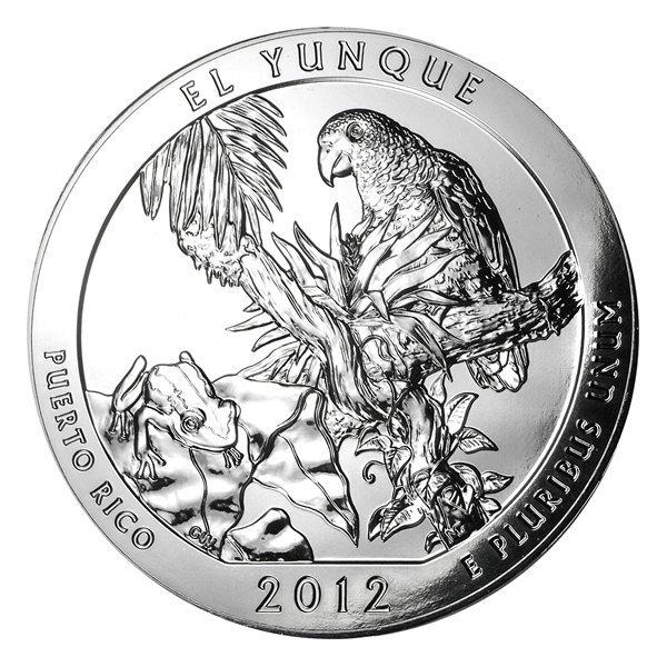 2012 5 oz Silver ATB - El Yunque National Park, Puerto