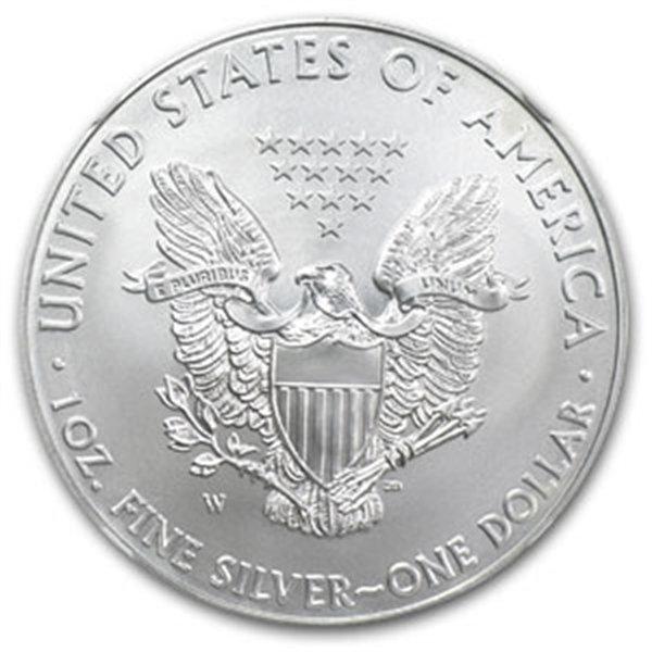 2009 1 oz Silver American Eagle MS-70 NGC