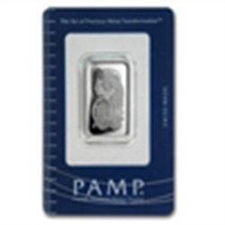 1 oz Pamp Suisse Silver Bar - Cornucopia (In Assay)