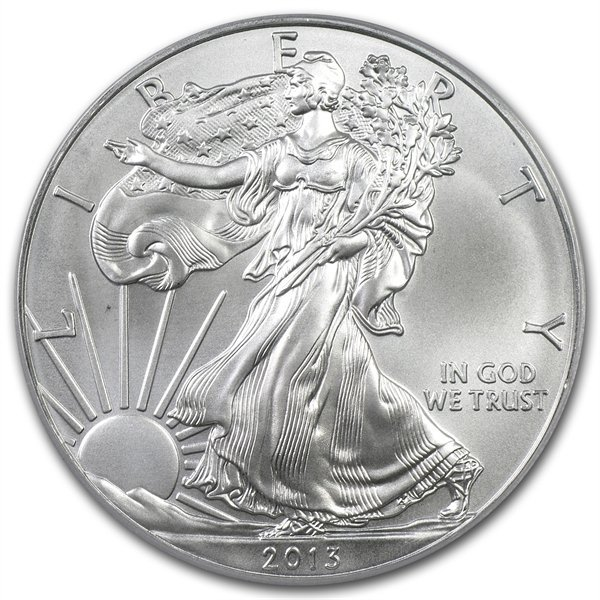 2013 (W) Silver American Eagle MS-69 NGC (Early Release