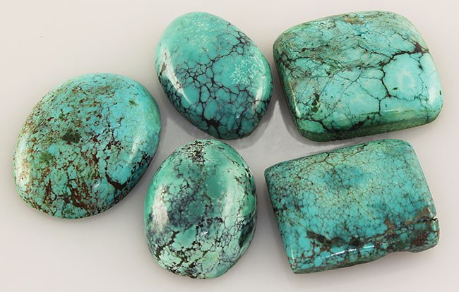 Natural Turquoise 120.73ctw Loose Small Gemstone Lot of