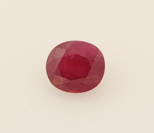 Loose Gemstone Faceted Ruby Corrundum