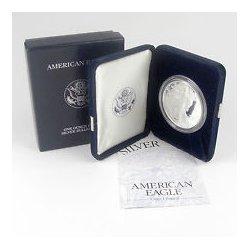 2005-W 1 oz Proof Silver American Eagle (w/Box & CoA)