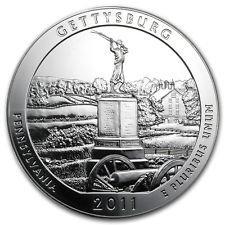 2011 Silver ATB 100-Coin Sealed Box Gettysburg, PA