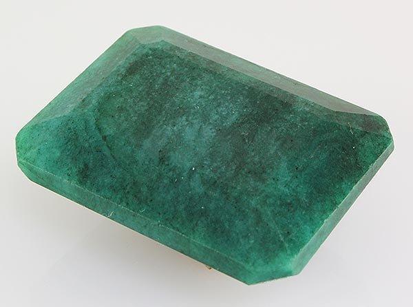 Emerald 118.35ctw Loose Gemstone 35x28x15mm EmeraldCut