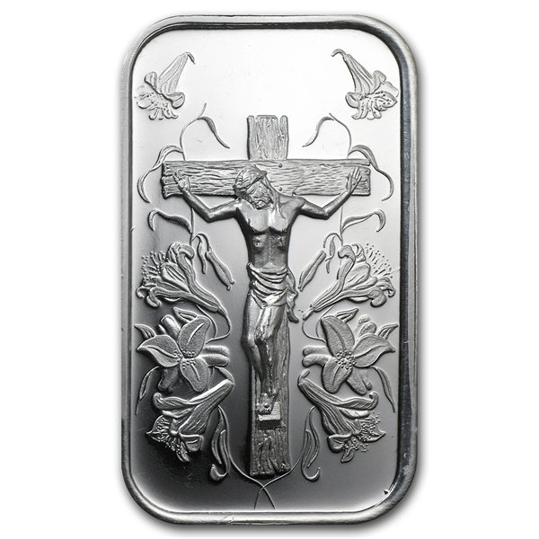 1 oz Jesus Silver Bar