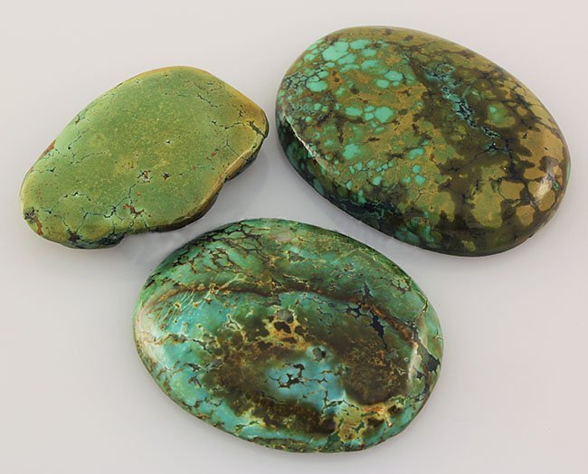 Natural Turquoise 257.50ctw Loose Gemstone 4pc Big Size