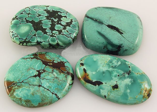 Natural Turquoise 132.64ctw Loose Small Gemstone Lot of