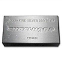 100 oz Engelhard Silver Bar (Struck - Original Plastic)