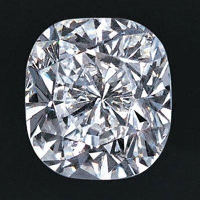 Cushion 1.0 Carat Brilliant Diamond E VVS1