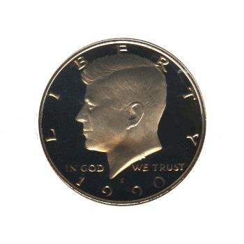 Kennedy Half Dollar 1990-S Proof