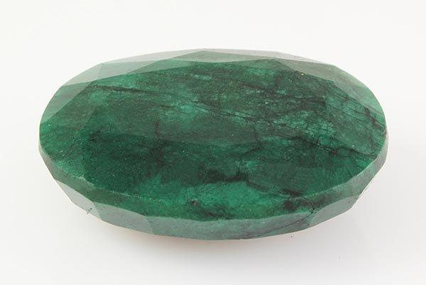 Emerald 181.14ctw Loose Gemstone 45x33x16mm Oval Cut