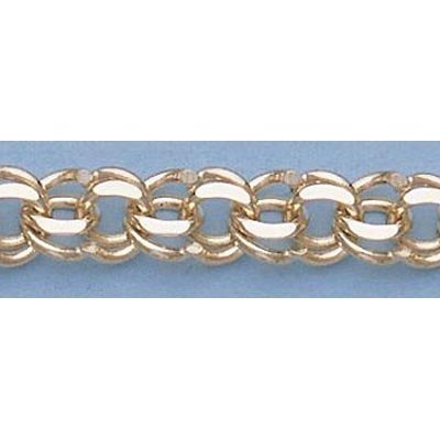 """Pure Gold 7"""" 14kt Italian Gold-Yellow or White 5.7mm, C"""