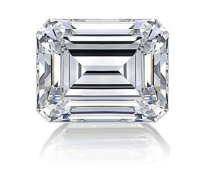Emerald 1.02 Carat Brilliant Diamond F SI2
