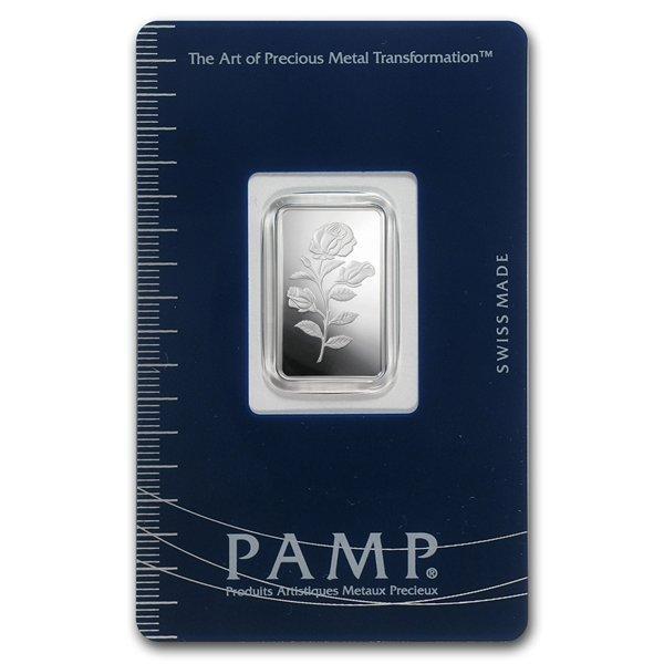 10 gram Pamp Suisse Silver Bar - Cornucopia (In Assay)