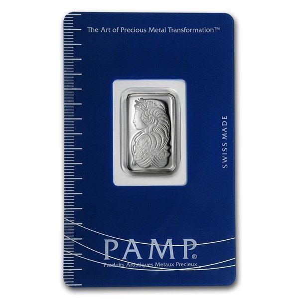 5 gram Pamp Suisse Silver Bar - Cornucopia (In Assay) .