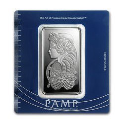 100 gram Pamp Suisse Silver Bar - Cornucopia (In Assay)