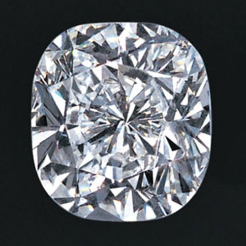 Cushion 1.0 Carat Brilliant Diamond D VS2