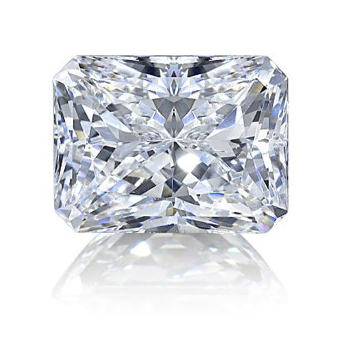 Radiant 0.91 Carat Brilliant Diamond G VVS2