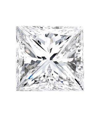 Princess 0.50 Carat Brilliant Diamond E VS2