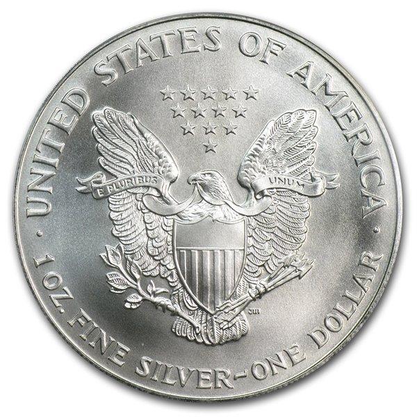 1996 1 oz Silver American Eagle MS-69 PCGS