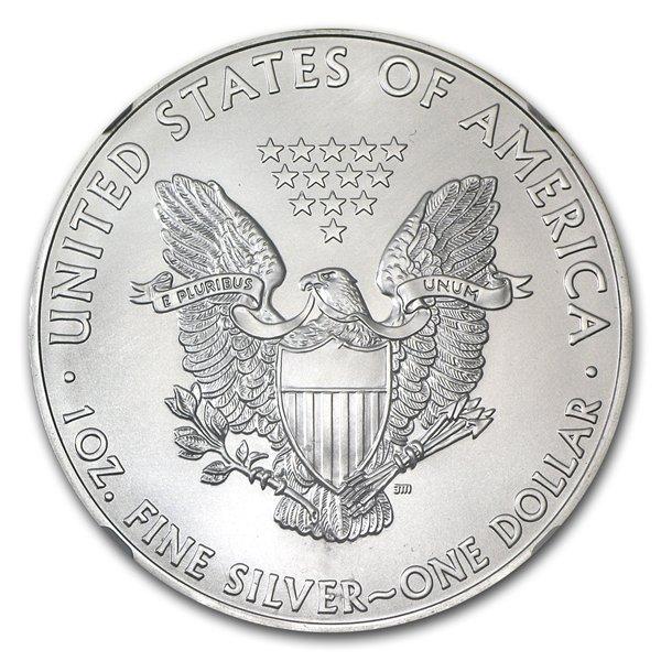 2009 1 oz Silver American Eagle MS-70 PCGS - First Stri