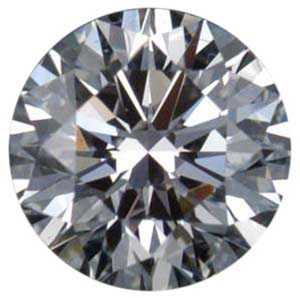 Round 0.52 Carat Brilliant Diamond F IF
