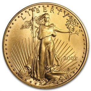 2003 1 oz Gold American Eagle MS-69 PCGS