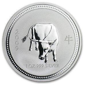 2009 1 oz Silver Lunar Year of the Ox (Series I) - Key