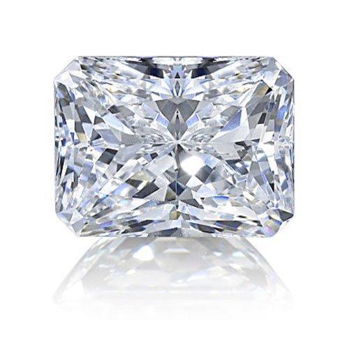 Radiant 0.71 Carat Brilliant Diamond F VVS2