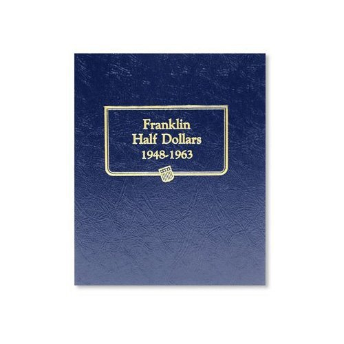 Circulated Franklin Half Dollar Set 1948-1963 (In Estat
