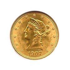 $10 Liberty Uncirculated Early Gold Bullion
