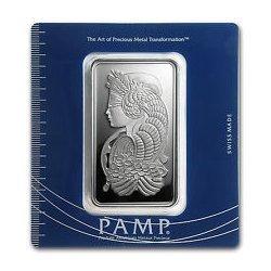 100 gram Pamp Suisse Silver Bar - Cornucopia (In Assay)