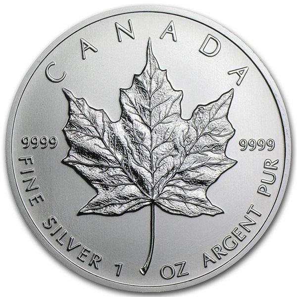 2013 1 oz Silver Canadian Maple Leaf