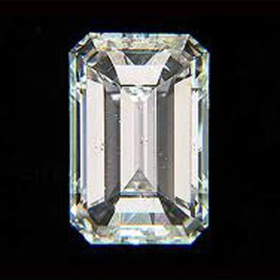 EGL Certified Diamond Emerald 1.02ctw D,SI2