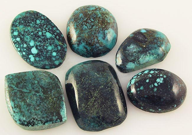Natural Turquoise 173.70ctw Loose Small Gemstone Lot of